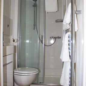 Badezimmer der Unterkünfte