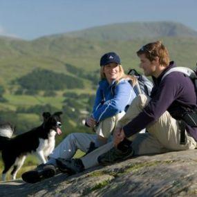 Ein Tag in der Natur Schottlands