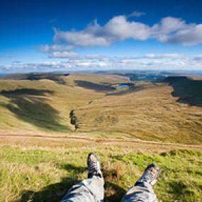 Die Weiten des Brecon Beacon Nationalparks