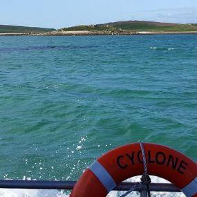 Anfahrt auf die Scilly Islands