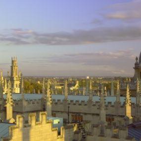 Blick auf Oxford