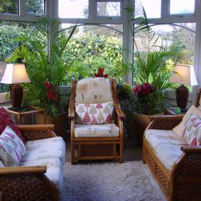 Die Lounge des Hauses