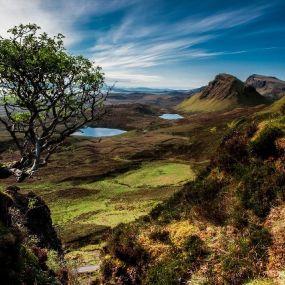 Dramatische und einzigartige Landschaften