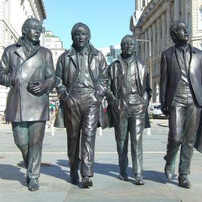 Die Beatles - Wahrzeichen Liverpools