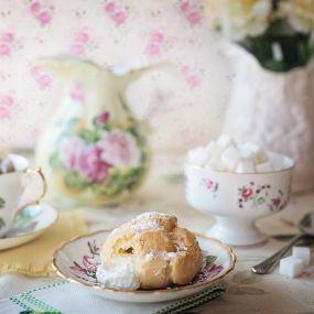 Typisch englischer Cream Tea