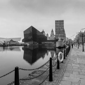 Der Hafen von Liverpool