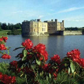 Das Leeds Castle war seit dem Jahr 1119 die Residenz vieler englischer Königinnen.