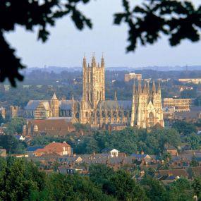 Die atemberaubende Kathedrale in Canterbury ist  ein Meisterwerk der gotischen Baukunst.