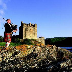 Ein Fotostopp am Eilean Donan Castle.