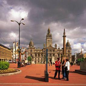 Glasgow wurde im Jahre 1990 zur Kulturhauptstadt Europas ernannt.