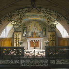 Die 'Italian Chapel' auf Lamb Holm - gebaut von italienischen Kriegsgefangenen.