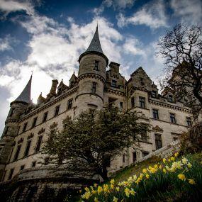 Dunrobin Castle - Familiensitz des Herzogs von Sutherland.